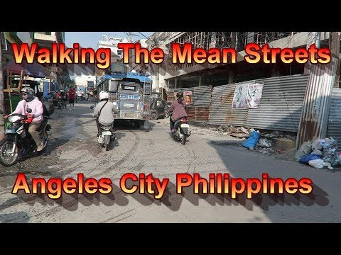 Thumbnail: Walking The Mean Streets of Angeles City Philippines