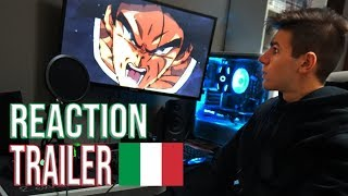 Dragon Ball Super Broly Reaction Trailer Italiano