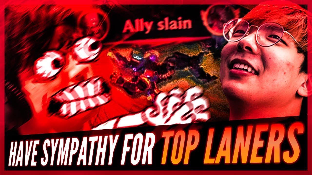 Huhi - HAVE SYMPATHY FOR TOP LANERS | Ft. Hauntzer
