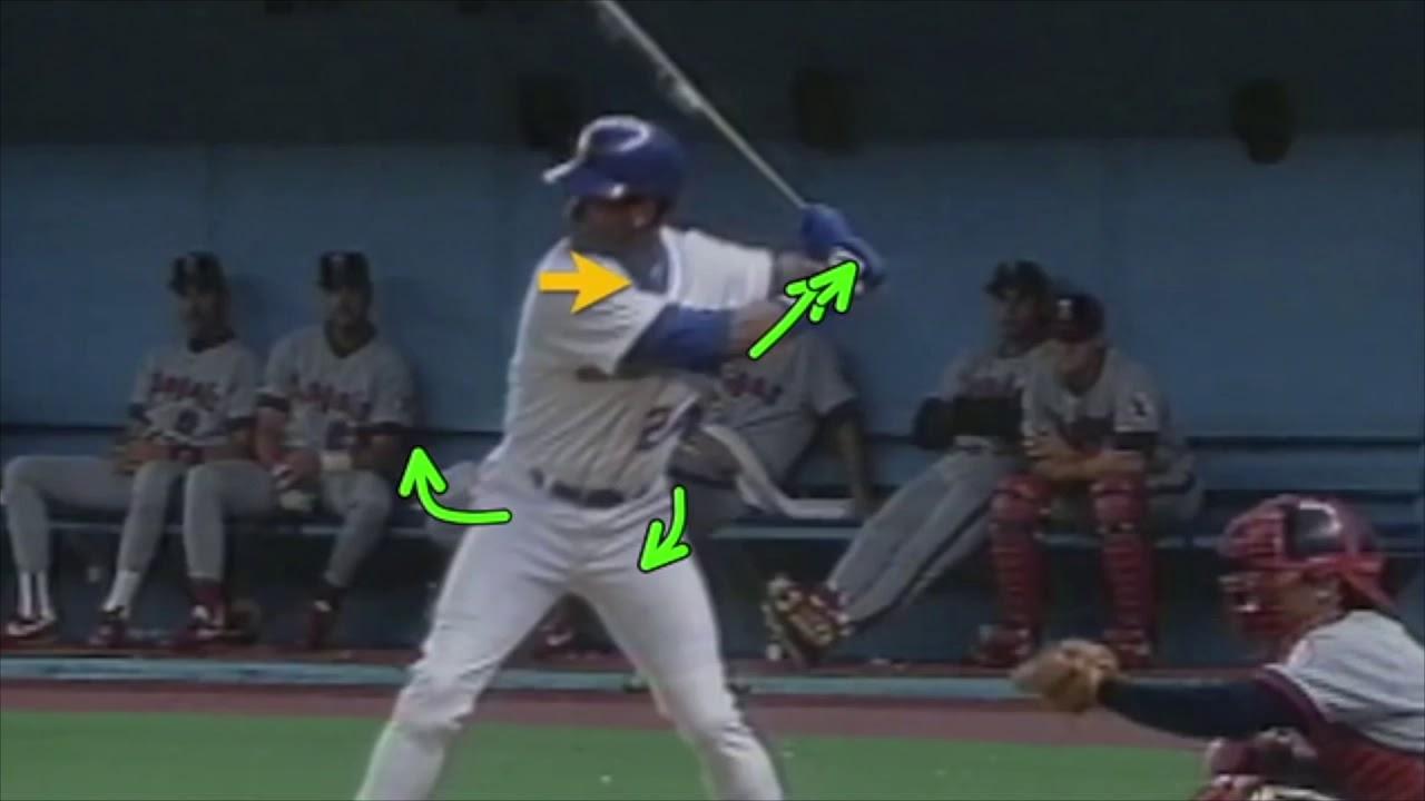 007e8bc74c Ken Griffey Jr Hitting Mechanics. Antonelli Baseball