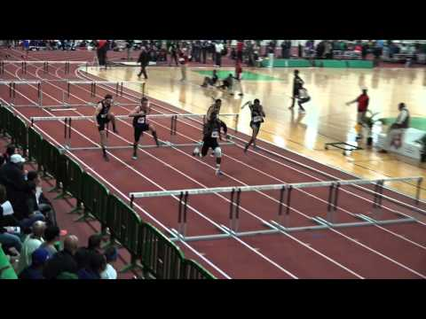 2015 VHSL Indoor Track Championships  Boys 55 Hurdle And 55 Meter Trials 5 A & 6 A
