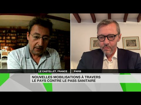 «Chantage»,«élément de peur»: René Chiche et S. Rozès sur les mobilisations contre le pass sanitaire