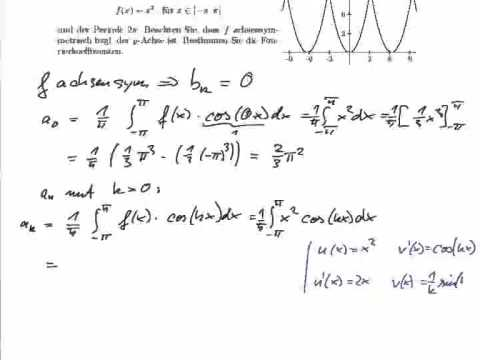 Fourierreihe Berechnen : analysis fourierreihen youtube ~ Themetempest.com Abrechnung