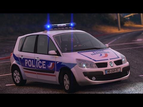 GTA 5 : POLICE NATIONALE #7   Renault Scenic