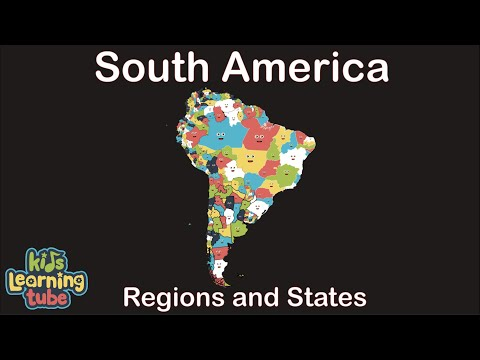 South America Song Geography/South American Country Regions And States