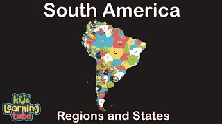 South American Geography/South American Country Regions