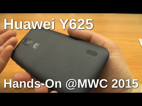 Huawei Y625 Hands On auf dem MWC 2015 - www.technoviel.de