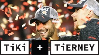 49ers And Chiefs Are Moving On To Super Bowl LIV | Tiki + Tierney