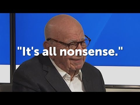 Rupert Murdoch Dismisses Fox News Sex Scandals as 'Nonsense', Disparaging Tamara Holder [Sky News]