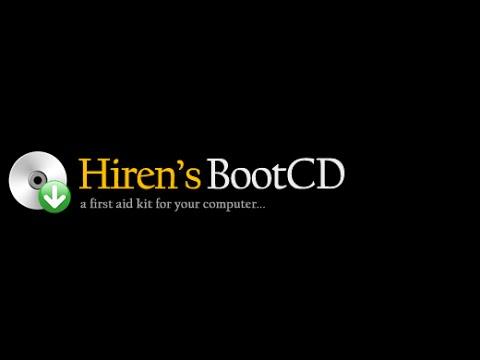 HIREN`S BOOT CD | COMO USAR NORTON GHOST - CREAR Y RESATURAN IMAGEN