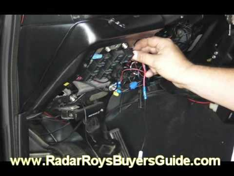 How to Direct Wire Your Radar Detector  YouTube