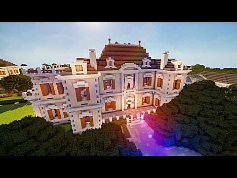 Minecraft grand manoir traditionnel 1 2 youtube - Grand magasin maison du monde ...