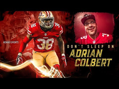 About 49ers Safety Adrian Colbert