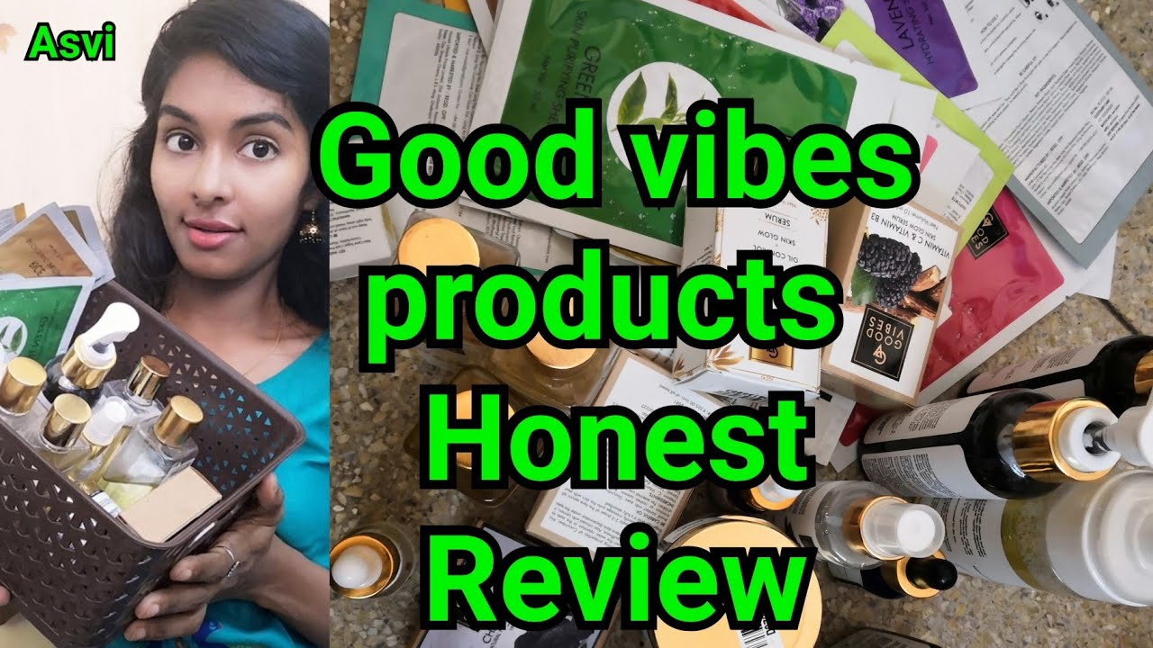 Summer special Best affordable skin care products Review Good vibes  products review Asvi be creativ