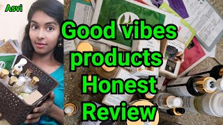 Summer special|Best affordable skin care products Review|Good vibes products review|Asvi be creativ