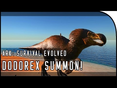 ARK: Survival Evolved HOW TO SUMMON THE DODOREX! (ARK TURKEY TRIAL GAMEPLAY)