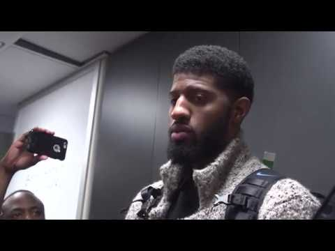 Oklahoma City Thunder Postgame Interview / Thunder vs Cavaliers / Jan 20