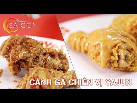 Cánh gà chiên vị Cajun - Thành Phố Hôm Nay [HTV9 – 31.12.2015]