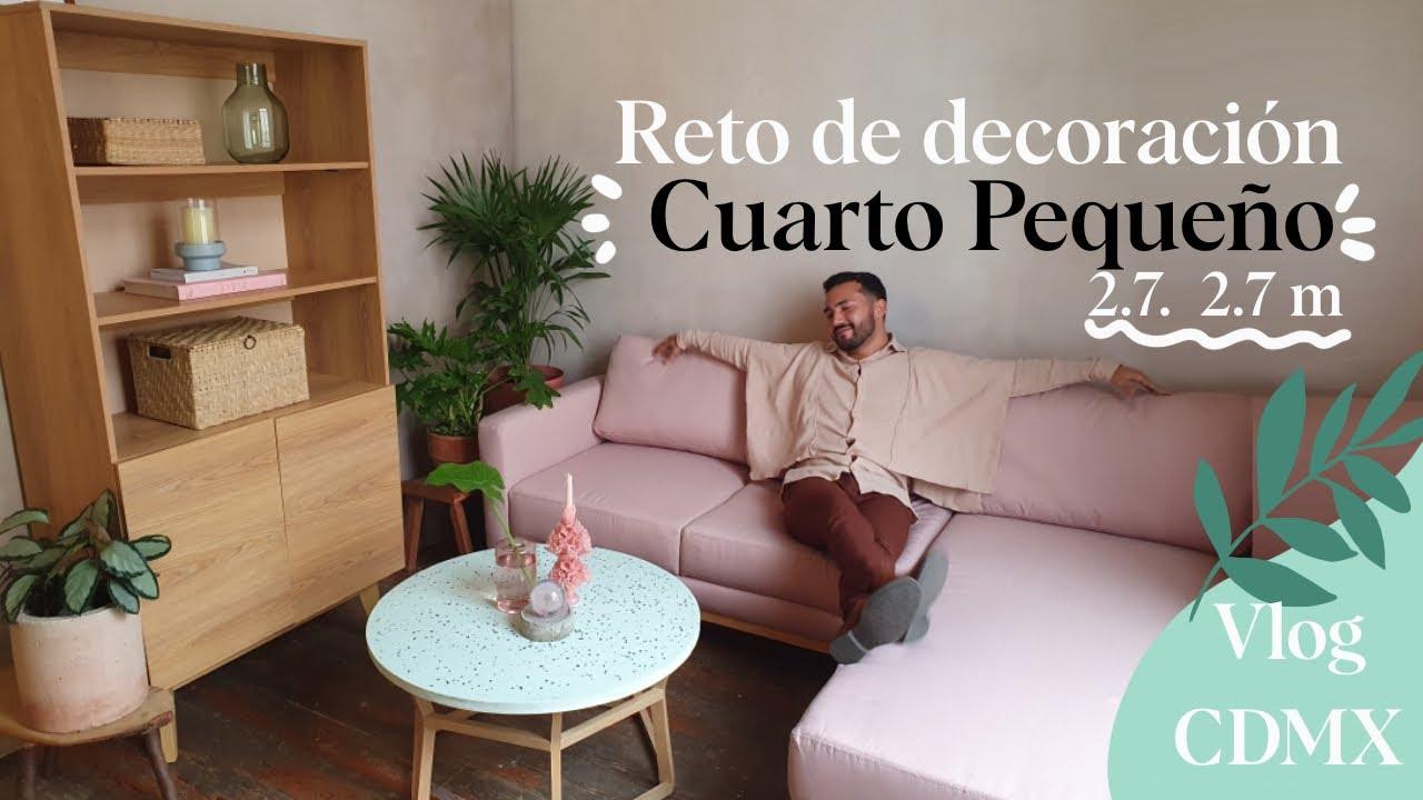 ✅ RETO DE DECORACIÓN EN CUARTO DE 2.7 x 2.7 m 😱  GAIA design