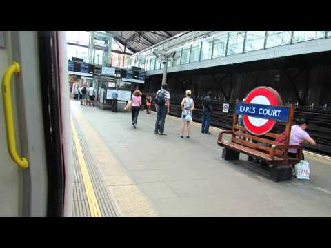 Earls Court Tube Station in London 4