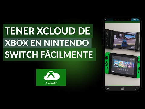 Cómo Tener xCloud de xBox en la Nintendo Switch Fácilmente