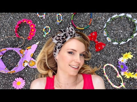 Hair Tutorial with 10 DIY Quick Hairstyles for School & 10 DIY Hair Accessories
