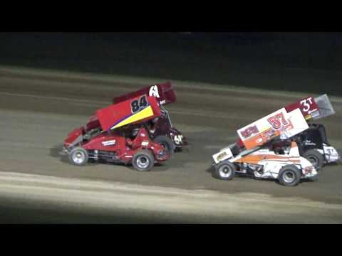 Great Lakes Super Sprints B-Feature at Crystal Motor Speedway, Michigan on 06-10-2017