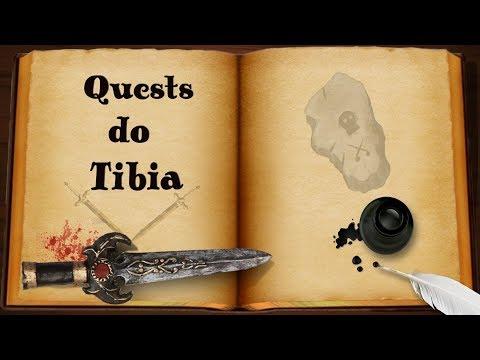 Quests do Tibia #12: Medusa Shield Quest (Premium)