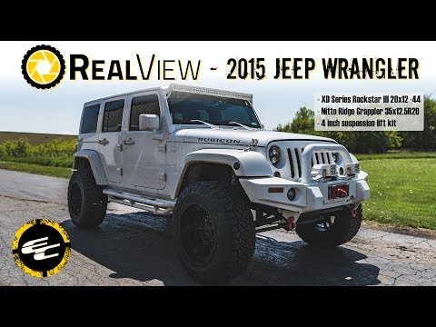 RealView - Lifted 2015 Jeep Wrangler w/ 20