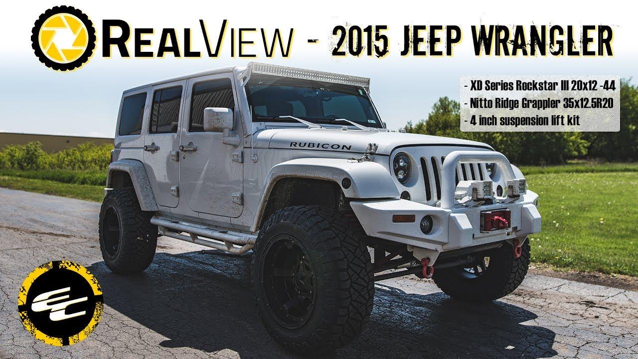 realview lifted 2015 jeep wrangler w 20 xd series rockstar iiis rh youtube com
