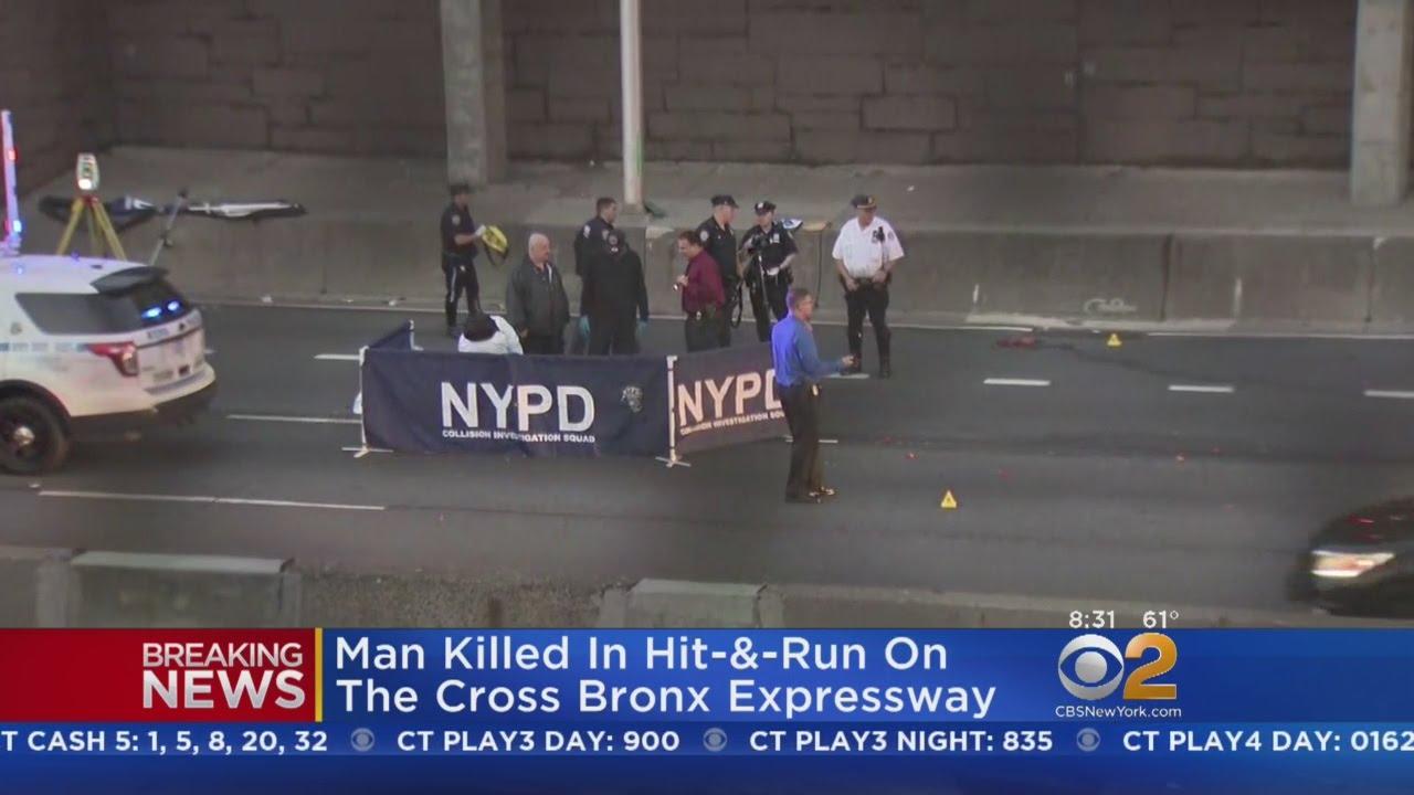 Pedestrian Struck In Fatal Hit-And-Run On Cross Bronx Expressway