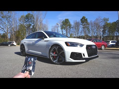 2019 Audi RS5 Sportback: Start Up, Exhaust, Test Drive and Review