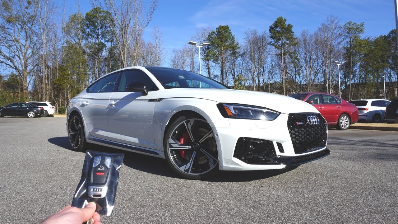 2019 audi rs5 sportback  start up  exhaust  test drive and review