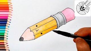 pencil draw easy drawing tutorial