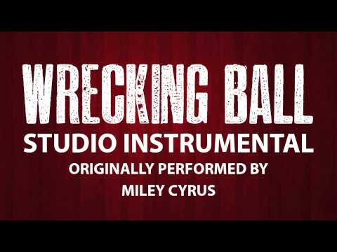 Wrecking Ball (Cover Instrumental) [In the Style of Miley Cyrus]