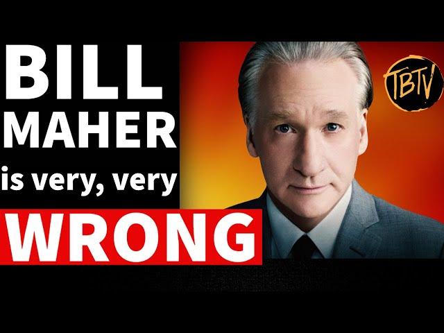 Bill Maher GROSSLY Exaggerates America's Racial Progress