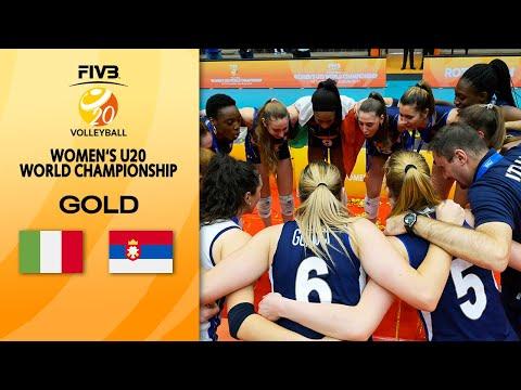 ITA vs. SRB - Full Gold Medal Match | Women's U20 Volleyball World Champs 2021