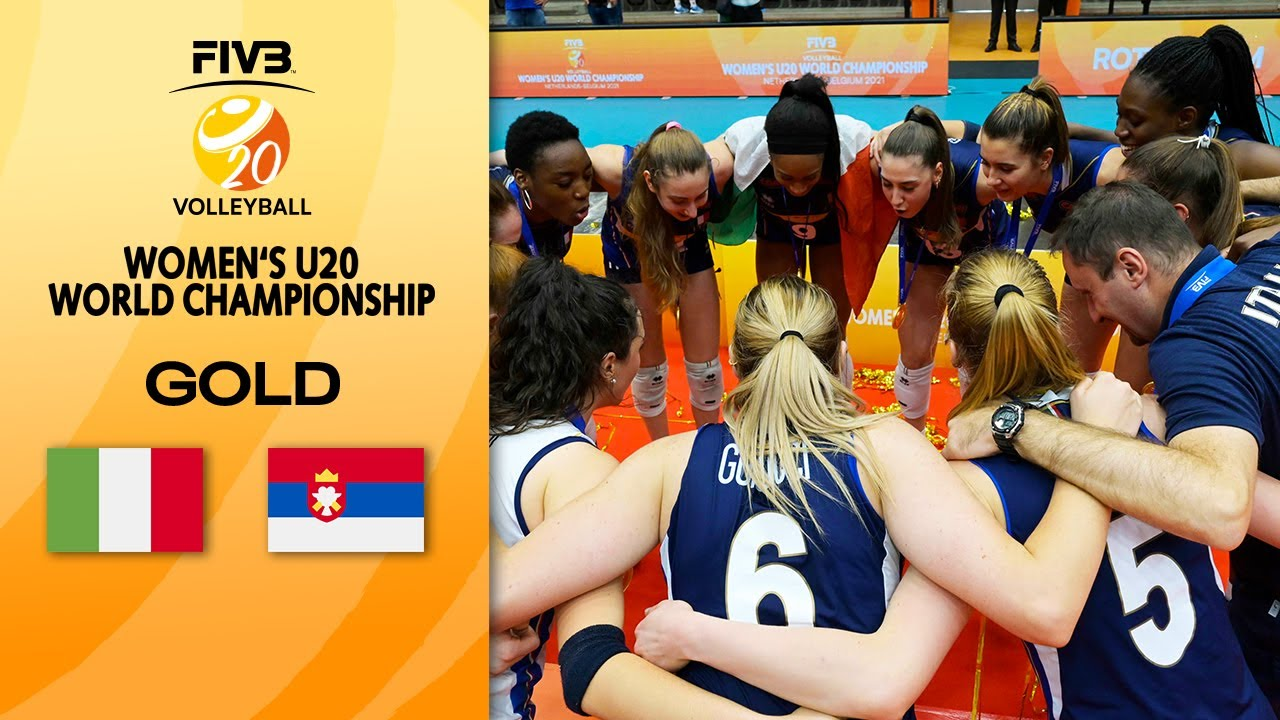 Download ITA vs. SRB - Full Gold Medal Match   Women's U20 Volleyball World Champs 2021