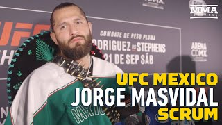 Jorge Masvidal Says Kamaru Usman Rejected Bout For UFC 244: 'That Guy Knows I'll Baptize Him'