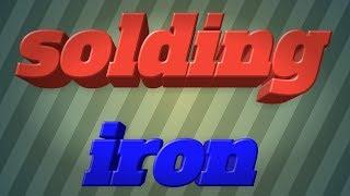 Solding Iron