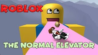Super Funny Events in the Elevator / The Normal Elevator / Roblox English