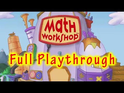Math Workshop Playthrough [Full Run, 480p]