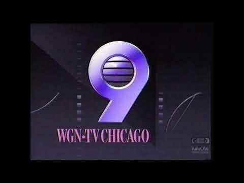 WGN TV Chicago 9 | Ident | 1993