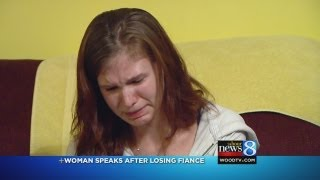 Fiancee of bicyclist hit by car mourns