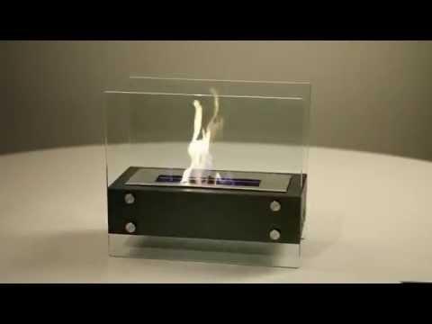 presentation de la cheminee bioethanol modele dempo a. Black Bedroom Furniture Sets. Home Design Ideas