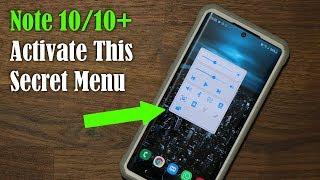 Galaxy Note 10 Plus - Activate The Exclusive Secret Menu