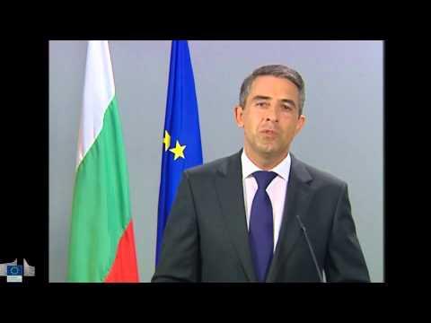 Jobs for Europe - Statement by Rosen Plevneliev