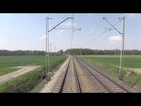 Odcinek Poznań Główny - Konin - Linia kolejowa E20 z tyłu EIC BWE