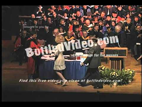 Free Stock Footage - Students Receive Diplomas During University Commencement