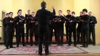 Beati Mortui (Mendelssohn) door mannenkoor Hommeros